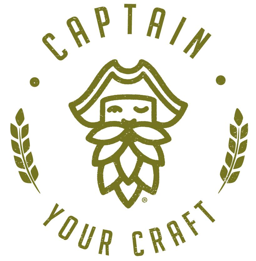 Newcastle Brew Shop Captain Your Craft Stamp